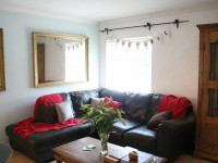 image of the lounge in Hendra Cottage self catering holiday let in perranuthnoe
