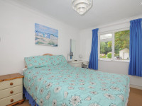 image of the bedroom in No 3 St Pirans Cottages holiday let in Perranuthnoe