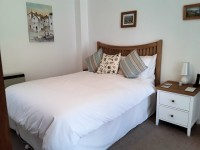image of the bedroom in Robin Cottage holiday accommodation in Perranuthnoe