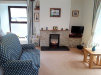 image of the lounge in Robain Cottage holiday accommodation in Perranuthnoe