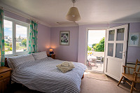 Image of bedroom St Pirans Cottages Perranuthnoe