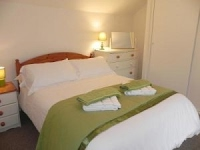 image of the bedroom in The Cottage & Littlecot self catering holiday let in perranuthnoe