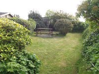 image of The Cottage & Littlecot garden in the self catering holiday let in perranuthnoe