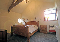 image of the bedroom in The Milk House holiday accommodation in Perranuthnoe