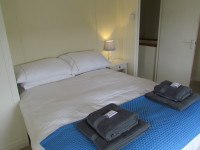 image of the bedroom in The Vineyard self catering accommodation in Perranuthnoe