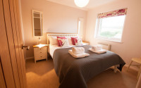 image of the bedroom in Trenow Cottage holiday accommodation in Perranuthnoe