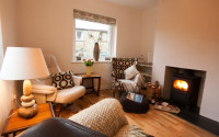 image of the lounge in Trenow Cottage self catering holiday let in perranuthnoe