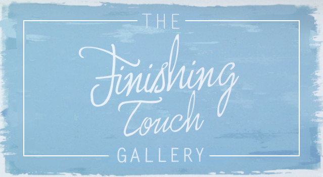 image of The Finishg Touch Gallery sign Perranuthnoe