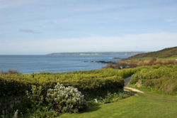 View from Morlais - Self catering accommodation in Perranuthnoe Cornwall